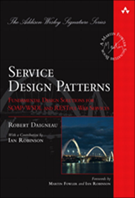 Livro Service Design Patterns - de Ian Robinson